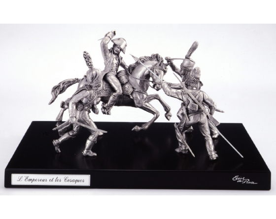 pewter Napoleon Cossacks