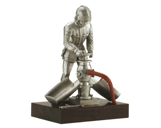 fire pewter firefighter
