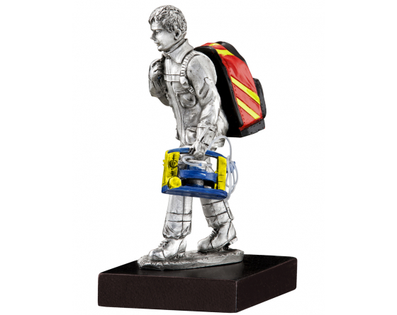 pewter emergency firefighter