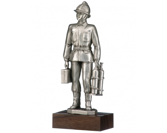 operational  pewter firefighter