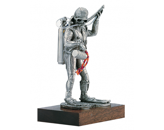 water pewter firefighter