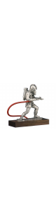 breathing pewter firefighter
